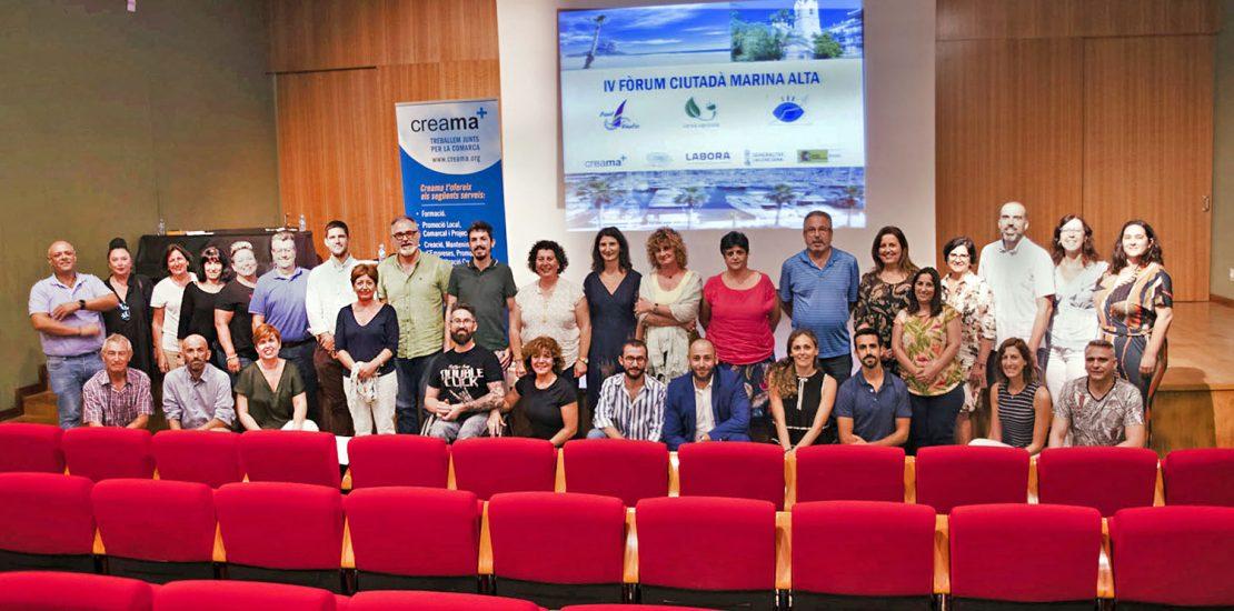 CREAMA refuerza el debate sobre el empleo en la Marina Alta con el 4º Foro Ciudadano